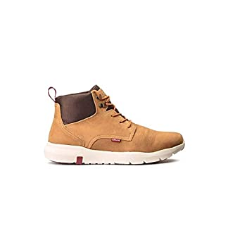 Levi's Alpine Nubuck Camel Boots for Men 13
