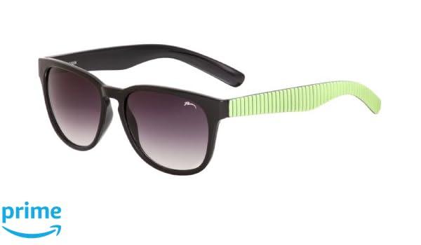 Sonnenbrille Damen Herren Unisex Hondo RELAX/R2300 (Schwarz-Grün/Rauch R2300B) i5yIlvU