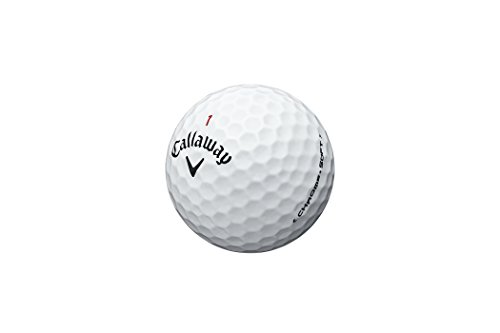Callaway Chrome Soft - Standard Golf Balls (Polyester) Couleur: Blanc Taille: 1 docena