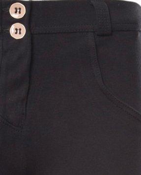 Freddy Damen Jeans / Slim Fit Jeans Regular Waist Schwarz