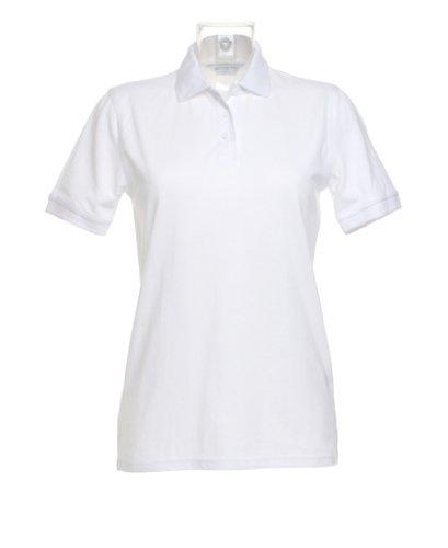 Kustom Kit Klassic polo femmes avec Superwash ® 60 ° c Blanc - Blanc