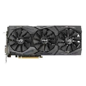 ASUS ROG STRIX-GTX1080-A8G-GAMING - NVIDIA GeForce GTX 1080 8GB GDDR5X, PCI Express 3.0, OpenGL 4.5, CUDA 2560, 256-bit, 10010