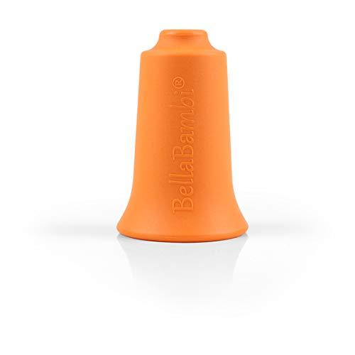BellaBambi Schröpfglocke aus medizinischem Silikon - Made in Germany, BellaBambi Cupping solo, 1 Stück - orange