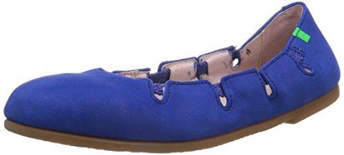 El Naturalista Croche N961, Senhoras Fechado Bailarinas Azul (anil)