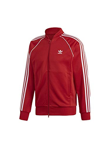 5827e3aa1 adidas SST TT Sweatshirt, Hombre, Power Red, XS
