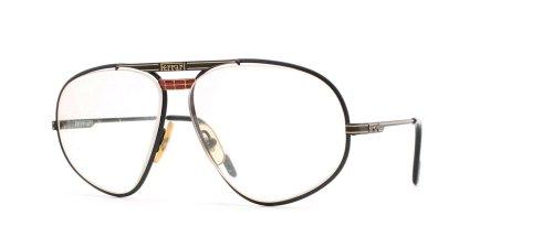 Ferrari Herren Brillengestell Schwarz Schwarz