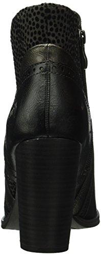 Marco Tozzi 25300, Bottes Classiques Femme Noir (BLACK ANT.COMB 096)