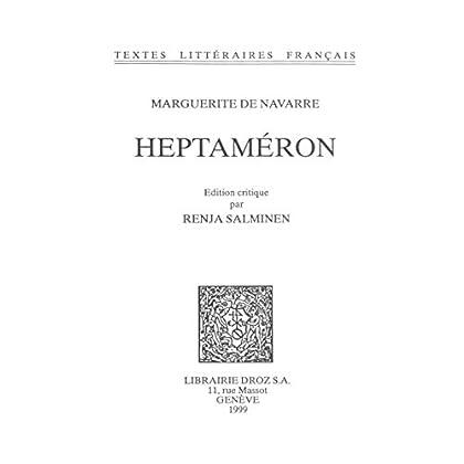 Heptaméron (Textes Littéraires Français t. 516)