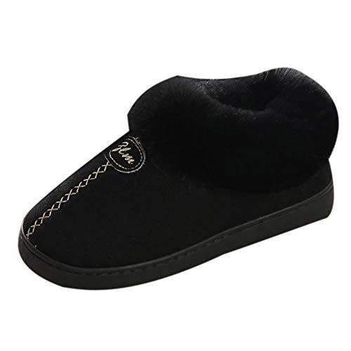S&H-NEEDRA Paar Home Rutschfeste Winterschuhe Keil Plattform Winter Warme Schneeschuhe Schuhe