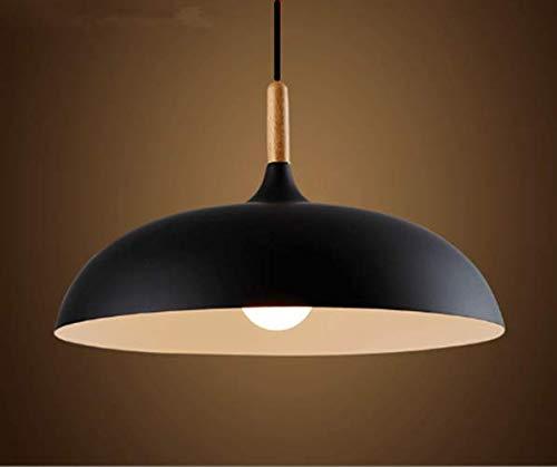 E27 Retro Suspensions Luminaires Lamps Antique Plafonnier Luminaire Industriel Lampe LED Aluminium Vintage éclairage de Plafond (noir)