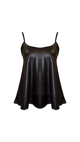 Sugerdiva - Robe - Chemise - Femme Noir noir 23-46 wetloon