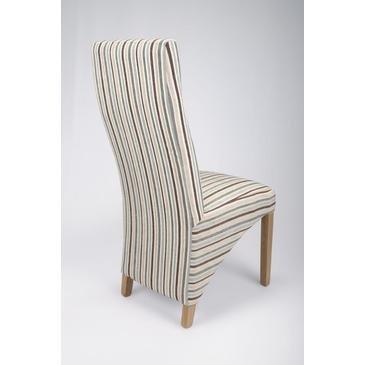 Shankar Baxter Stripe Duck Egg Blue Chair [Set of 2]