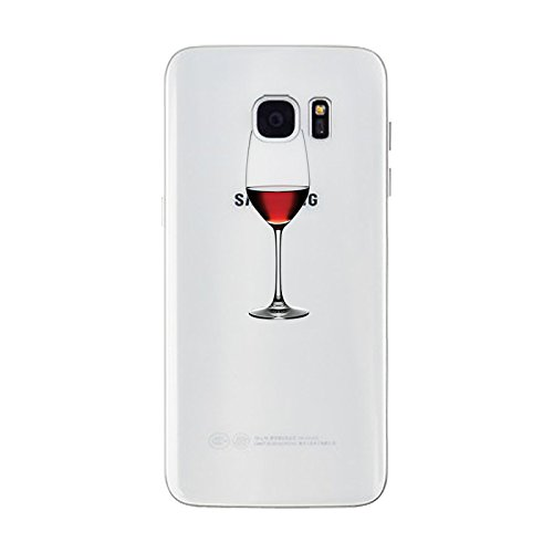 iPhone 6 plus Hülle, Schutzhülle Case Silikon- Clear Ultra Dünn Durchsichtige Backcover TPU Case für iPhone 6plus 6splus Rotwein