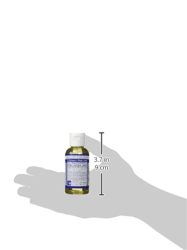 Dr. Bronner'S Organic Castile Liquid Soap Peppermint ,2 Oz Liquid