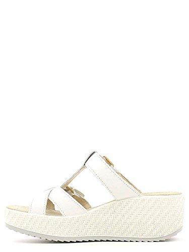 Enval 5982 Sandalo zeppa Donna Bianco