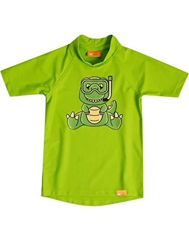 IQ-Company Kinder Zum Schwimmen und Spielen Shirt, neon-Green, 92