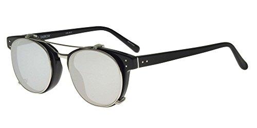 Linda Farrow Sonnenbrillen 581 BLACK WHITE GOLD BLACK WHITE GOLD PLATINUM/SILVER Damenbrillen