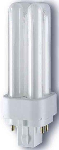 Leuchtmittel 3 Sockel G24q (RADIUM Kompakt-Leuchtstofflampe Ralux Duo/E, Sockel G24q 26 W / 830 RA31311487)