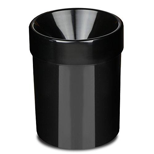 Acryl Wein Spucknapf schwarz 1L–Wine Tasting Spucknapf, Wein Spucknapf Bucket