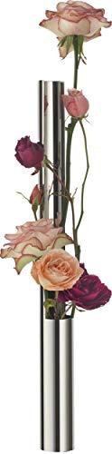 Alessi MGU03 Flower Vase Tube Blumenvase Edelstahl glänzend poliert -