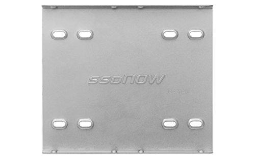Kingston SNA-BR2/35 Mount Kit (für SSD 6,4 cm (2,5 Zoll) auf 8,9cm (3,5 Zoll) inkl. Brackets und Schrauben)