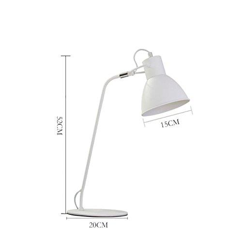 Tischleuchte, LED-Kipphebel-Lampe --- LED-Augenschutz Schreibtisch Bügeleisen Schlafsaal Schlafzimmer Nacht kreative Kinder-Tischlampe --- Energiesparende und augenpflegende Tischlampe