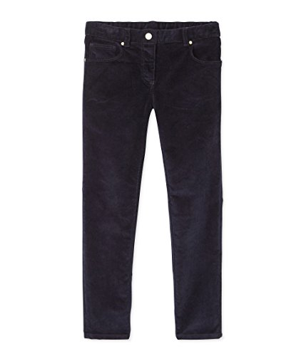 Petit Bateau Mädchen Pantalon Hose, Blau (Smoking 84), 116 (Herstellergröße: 6ans/116cm) Petites-cord-hose