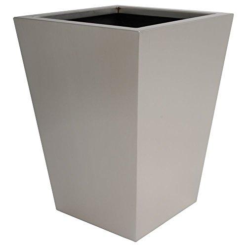 hydroflora 61425505 Value Line Property Advanced Pot de fleur en acier inoxydable V4A mat brossé 30 x 30 x 40 cm
