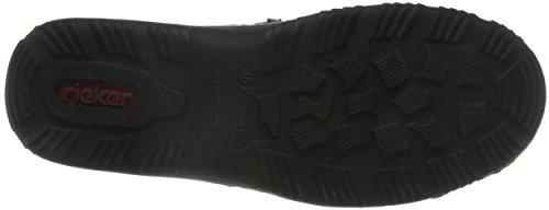 Rieker Damen L0559 Sneakers Schwarz (Schwarz/Schwarz/Schwarz/Schwarz / 00)
