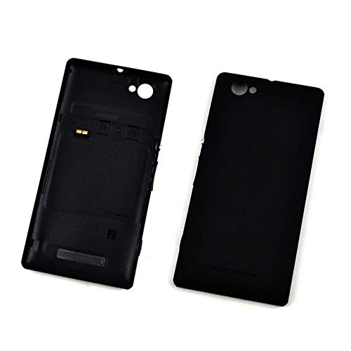 Sony Xperia M Replacement/Battery Door Panel Free SIM Adapter Black