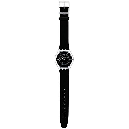 Swatch Armbanduhr Skin Classic Black Classiness SFK361