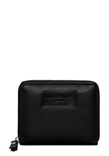 Liebeskind Berlin Damen Essential Conny Wallet Medium Geldbörse, Schwarz (Black), 3x11x13 cm - Leder Damen-medium Wallet