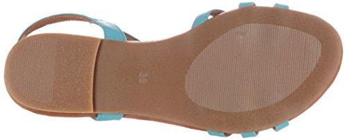 Azul Sandálias blue Senhoras 910 728 Das Piazza 4TqXgT