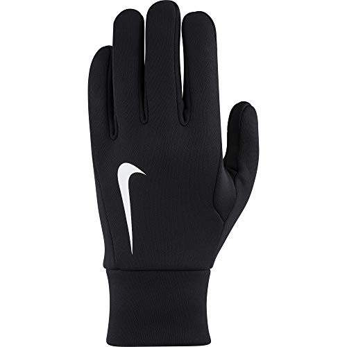 dcec3d2a36a92 Nike Hyperwarm Fieldplayer Gloves Guantes, Unisex Adulto, Negro/Blanco, M