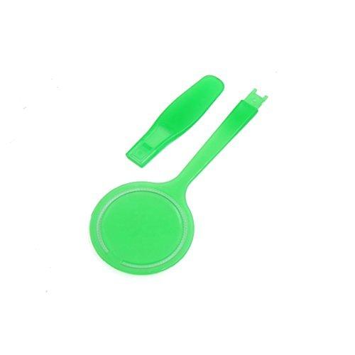 Deal Mux Vert Plastique Skin Care interchangeables Cotons étage outil de maquillage cosmétique pour les femmes
