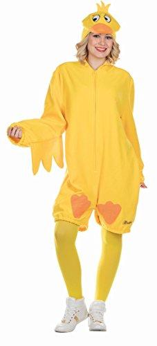 Rubies Die Sendung mit der Maus Unisex Kostüm Ente Karneval ()