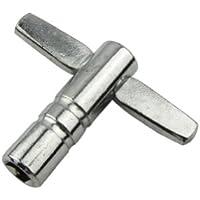 Musiclily Clé de serrage métallique standard pour batteries Nickelé