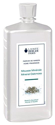 LAMPE BERGER 116342 Mousse Minerale Raumduft, Kunststoff, weiß, 7,5 x 6 x 19 cm (6 Moos Teppich)