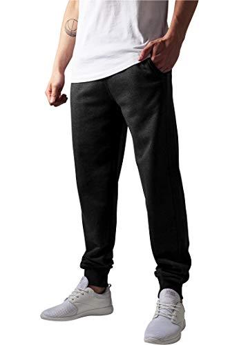 URBAN CLASSICS Straight Fit Sweatpants TB252 charcoal XXL Straight Fit Charcoal