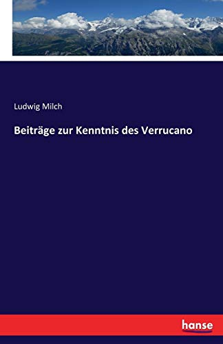 Beiträge zur Kenntnis des Verrucano