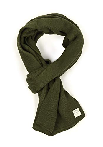 Blend Scar Herren Schal Winterschal Unisex, Größe:ONE SIZE, Farbe:Forest Night Green (77220)