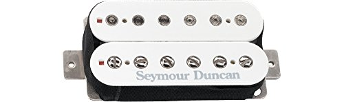 SEYMOUR DUNCAN SH 6B DUNCAN DISTORTION (BRIDGE POSITION) WHITE
