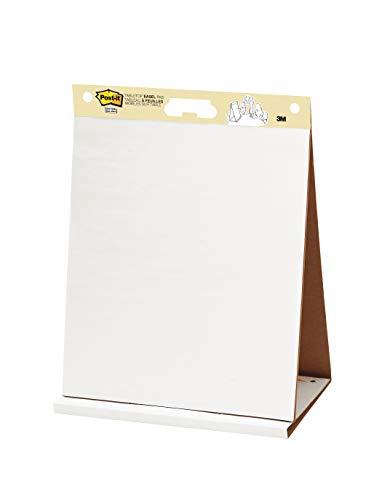 Post-It Meeting chart Bloc de 20 feuilles auto adhésives blanches