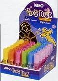 Textilmarker, leuchten im Dunkeln, 6 Stück
