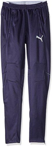 Puma Men's Training Pant Pants, New Navy/White, S