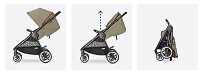 Cybex Agis M-Air 4 - Silla de paseo con capazo, desde el nacimiento hasta 17 kg, color azul marino