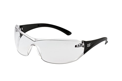 Caterpillar Clear black Shield safety frame glasses