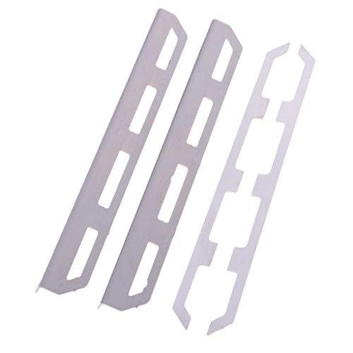 sharprepublic 1/10 RC Car Robuste Metall Seitenpedal Chassis Schutzplatte Für Traxxas 4 Refit Kits