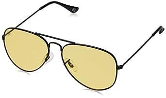 MTV Aviator Men's Sunglass (MTV-123|C16 58|Yellow)