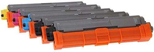 TONER EXPERTE® TN-241 TN-245 5 Cartouches de Toner compatibles pour Brother DCP-9015CDW DCP-9020CDW MFC-9130CW MFC-9140CDN MFC-9330CDW MFC-9340CDW HL-3140CW HL-3142CW HL-3150CDW HL-3152CDW HL-3170CDW HL-3172CDW